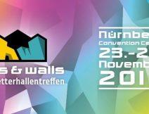 Halls and Walls Kletterhallenmesse 2018 in Nürnberg